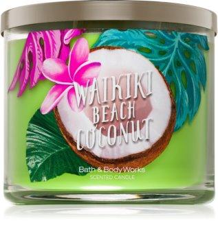 Bath & Body Works Waikiki Beach Coconut Duftkerze  411 g