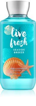 Bath & Body Works Live Fresh Seaside Breeze sprchový gel pro ženy 295 ml