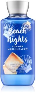 Bath & Body Works Beach Nights Summer Marshmallow gel za prhanje za ženske 295 ml