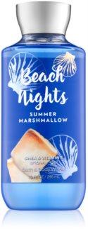 Bath & Body Works Beach Nights Summer Marshmallow sprchový gel pro ženy 295 ml
