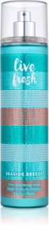 Bath & Body Works Live Fresh Seaside Breeze Bodyspray  voor Vrouwen  236 ml