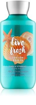 Bath & Body Works Live Fresh Seaside Breeze tělové mléko pro ženy 236 ml