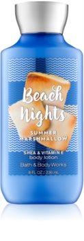 Bath & Body Works Beach Nights Summer Marshmallow tělové mléko pro ženy 236 ml