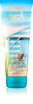 Bath & Body Works Live Fresh Seaside Breeze crema de corp pentru femei 226 g