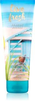Bath & Body Works Live Fresh Seaside Breeze crème pour le corps pour femme 226 g