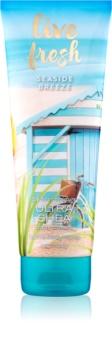 Bath & Body Works Live Fresh Seaside Breeze tělový krém pro ženy 226 g