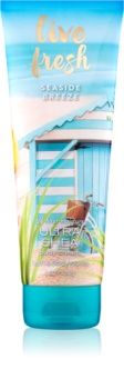 Bath & Body Works Live Fresh Seaside Breeze tělový krém pro ženy 226 g
