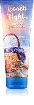 Bath & Body Works Beach Nights Summer Marshmallow telový krém pre ženy 226 g