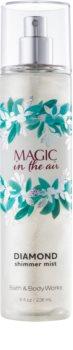 Bath & Body Works Magic In The Air spray corporel pailleté pour femme 236 ml
