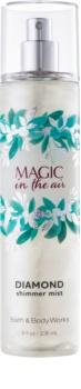 Bath & Body Works Magic In The Air spray corporel pour femme 236 ml pailleté