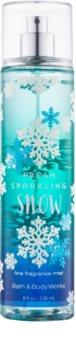 Bath & Body Works Fresh Sparkling Snow Körperspray für Damen 236 ml