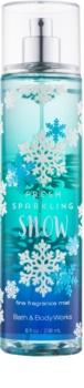 Bath & Body Works Fresh Sparkling Snow tělový sprej pro ženy 236 ml