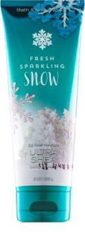 Bath & Body Works Fresh Sparkling Snow Κρέμα σώματος για γυναίκες 226 γρ