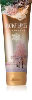 Bath & Body Works Snowflakes & Cashmere Bodycrème voor Vrouwen  226 gr