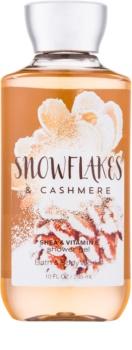 Bath & Body Works Snowflakes & Cashmere żel pod prysznic dla kobiet 295 ml