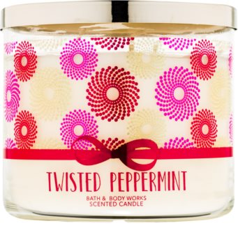 Bath & Body Works Twisted Peppermint Scented Candle 411 g