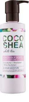 Bath & Body Works Cocoshea White Tea mleczko do ciała dla kobiet 230 ml