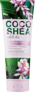 Bath & Body Works Cocoshea White Tea crème de douche pour femme 296 ml