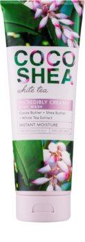 Bath & Body Works Cocoshea White Tea krem do kąpieli dla kobiet 296 ml