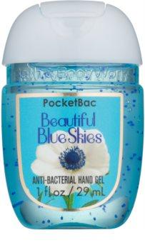 Bath & Body Works PocketBac Beautiful Blue Skies gel  para as mãos