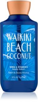 Bath & Body Works Waikiki Beach Coconut mleczko do ciała dla kobiet 236 ml