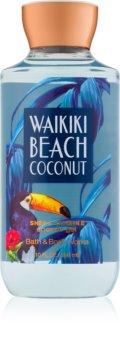 Bath & Body Works Waikiki Beach Coconut Douchegel  i. voor Vrouwen  295 ml