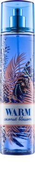 Bath & Body Works Warm Coconut Blossom spray corporel pour femme 236 ml