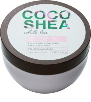 Bath & Body Works Cocoshea White Tea crème corps pour femme 226 g