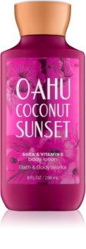 Bath & Body Works Oahu Coconut Sunset Body lotion für Damen 236 ml