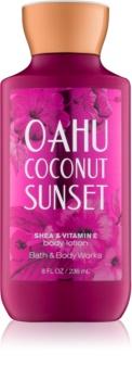 Bath & Body Works Oahu Coconut Sunset lait corporel pour femme 236 ml