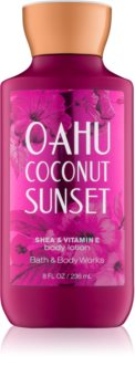 Bath & Body Works Oahu Coconut Sunset lotion corps pour femme 236 ml