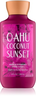 Bath & Body Works Oahu Coconut Sunset telové mlieko pre ženy