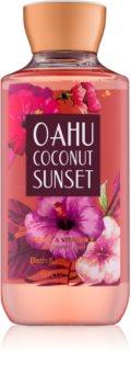 Bath & Body Works Oahu Coconut Sunset gel douche pour femme 295 ml