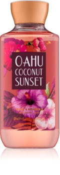 Bath & Body Works Oahu Coconut Sunset sprchový gel pro ženy 295 ml