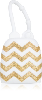 Bath & Body Works PocketBac White with Chevrons silikonový obal na antibakteriální gel
