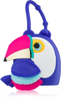 Bath & Body Works PocketBac Parrot estuche de silicona para gel de manos