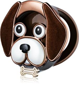 Bath & Body Works Dog with Collar support pour désodorisant de voiture   à suspendre