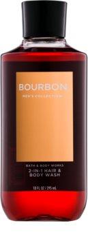 Bath & Body Works Men Bourbon Douchegel voor Mannen 295 ml
