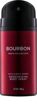 Bath & Body Works Men Bourbon Deo-Spray für Herren 104 g