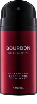 Bath & Body Works Men Bourbon deospray per uomo 104 g
