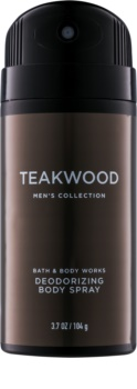 Bath & Body Works Men Teakwood Deo-Spray für Herren 104 g