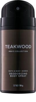Bath & Body Works Men Teakwood Deo-Spray für Herren 104 g