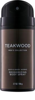 Bath & Body Works Men Teakwood Deospray for Men