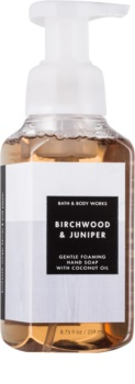 Bath & Body Works Birchwood Juniper hab szappan kézre