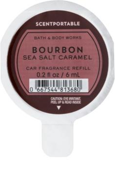 Bath & Body Works Bourbon Sea Salt Caramel illat autóba 6 ml utántöltő