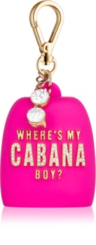 Bath & Body Works PocketBac Where's My Cabana Boy? Silicone Hand Gel Packaging