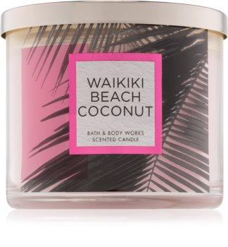 Bath & Body Works Waikiki Beach Coconut vonná svíčka 411 g