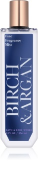 Bath & Body Works Birch & Argan spray corporel pour femme 236 ml