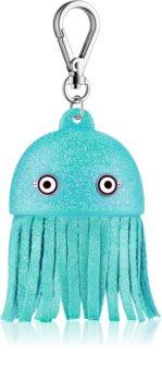 Bath & Body Works PocketBac Blue Jellyfish Glowing Silicone Holder for Antibacterial Gel