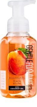 Bath & Body Works Peach Bellini hab szappan kézre